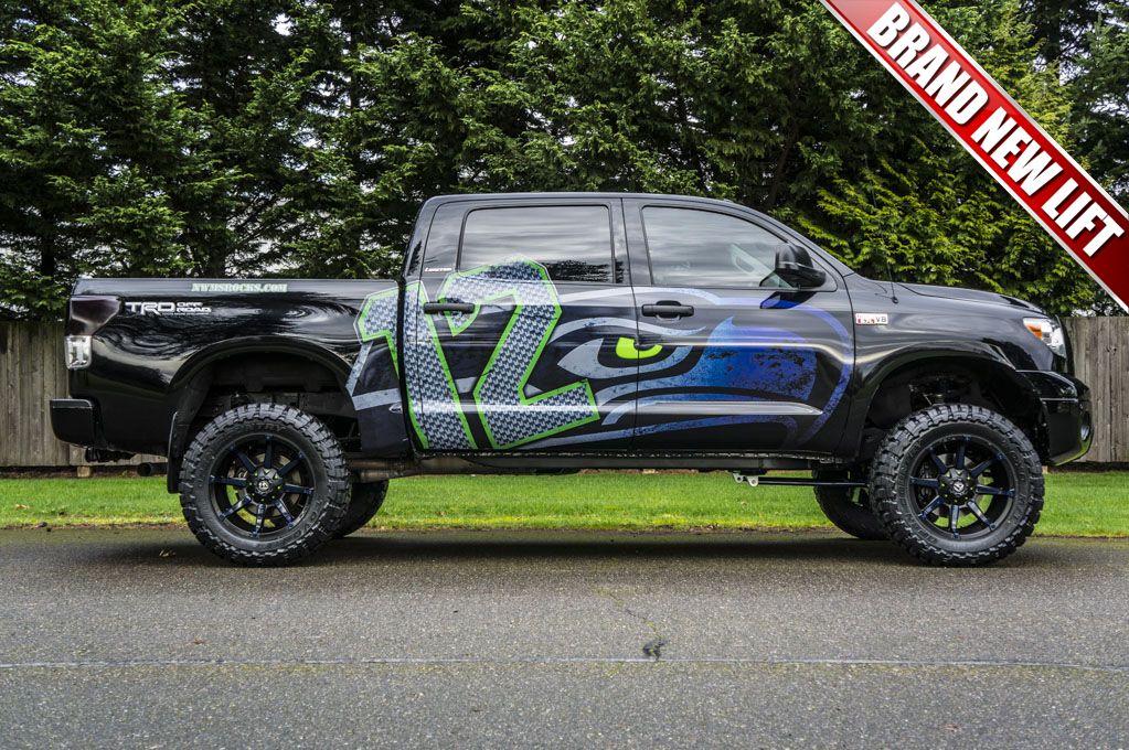 2011 Toyota Tundra Hawks 4x4 For Sale At Northwest Motorsport Seattle Seahawks Football Seahawks Baby Seahawks Outfits