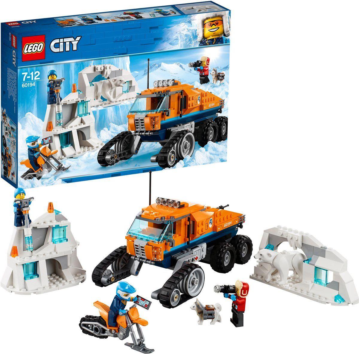 Konstruktionsspielsteine Arktis Erkundungstruck 60194 City