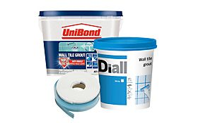 View Tiling Adhesives Grouts Sealants Details Glass Blocks Wall Glass Blocks Grout Sealant