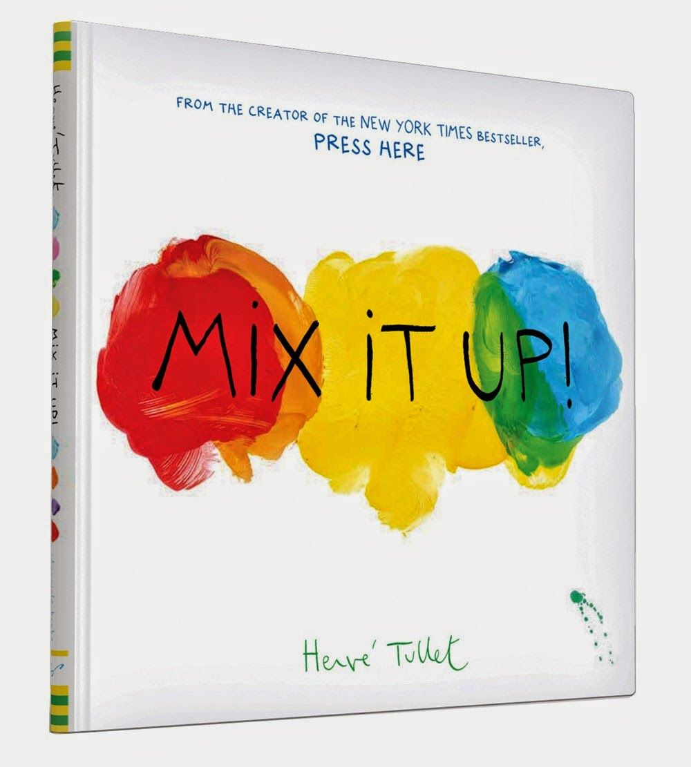 Books about color for kids - Mix It Up By Herve Tullet This New York Times Bestseller Teaches Kids About Mixing Kid Bookschildren Booksbooks For Toddlerscolor