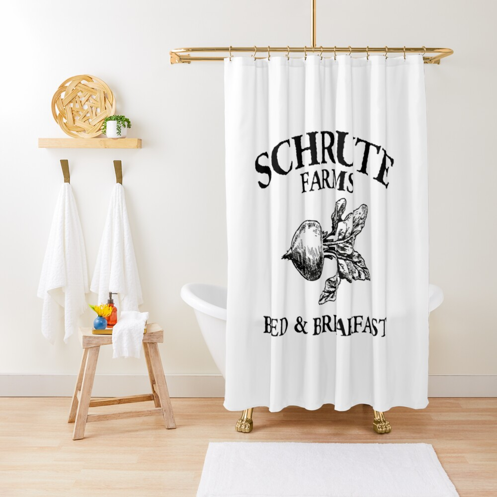 The Office Shower Curtain By Lacymorgan In 2020 Shower Curtain Office Bathroom Curtains