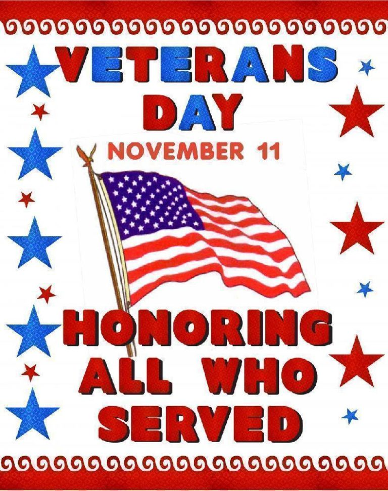 Free Veterans Day Posters Banner Printable For Facebook 2019