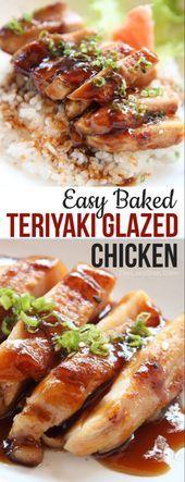 Easy Baked Teriyaki Chicken Recipe  The Lazy Dish  Amazing Food Recipes