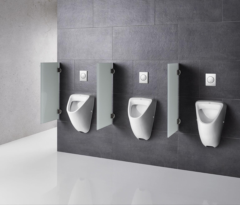 Urinaltrennwande Aus Glas Sanitareinrichtung Buro Badezimmer Wc Container