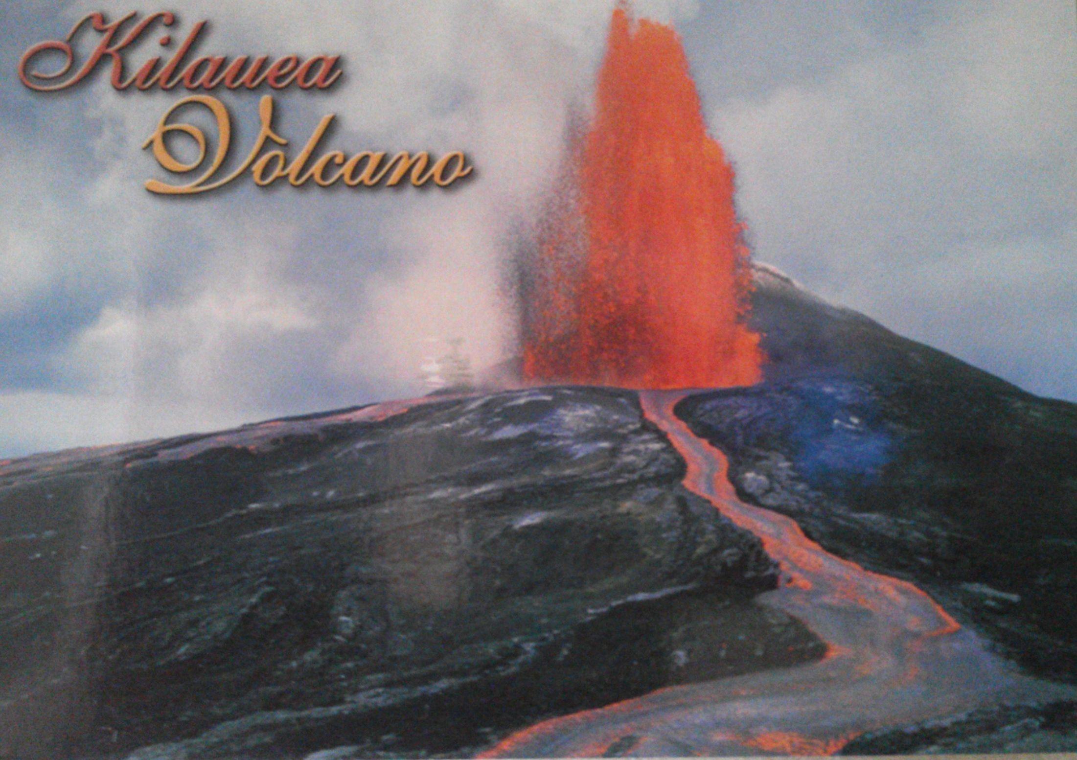 Kilauea Hawaii Kilauea Volcano Hawaii Usa Postcardswapific Kilauea Kilauea Volcano Hawaii