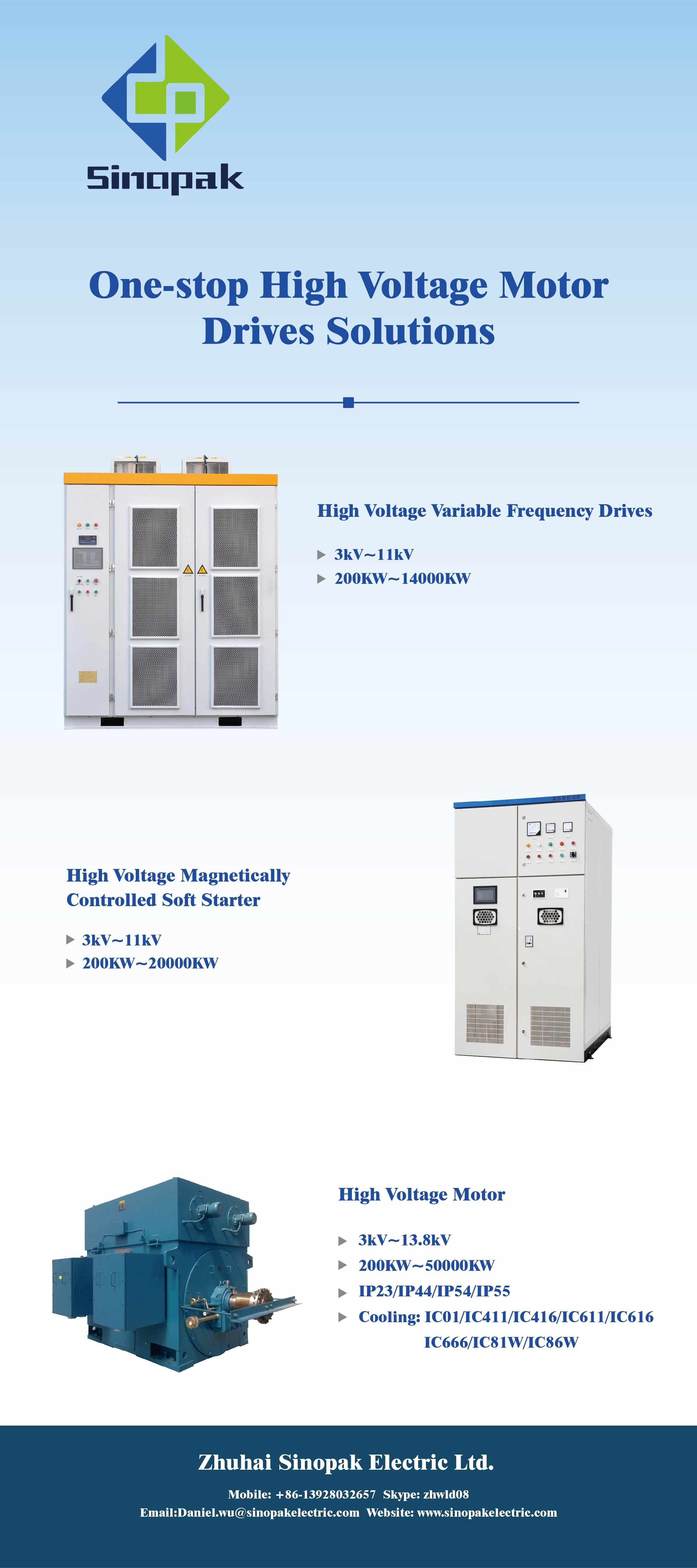 One Stop High Voltage Motor Drives Solutions High Voltage