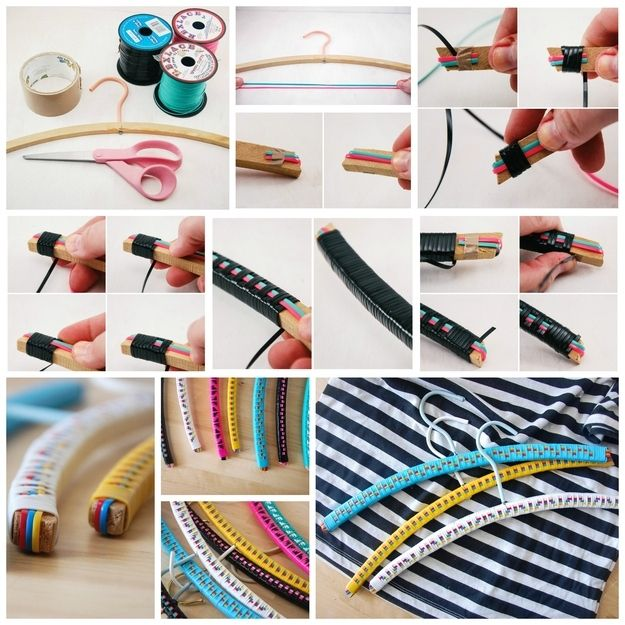 14 Adorable Ways To Decorate Your Clothing Hangers | Hanger, Decorating and  Clothes hanger
