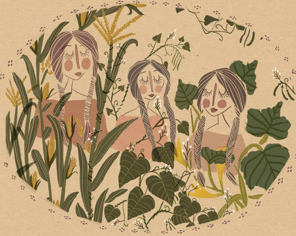Who Are The Three Sisters | Garden History | Pinterest | Three ...