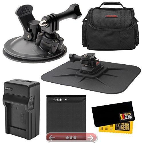 Essentials Bundle For Kodak Pixpro Sp360 Action Camera