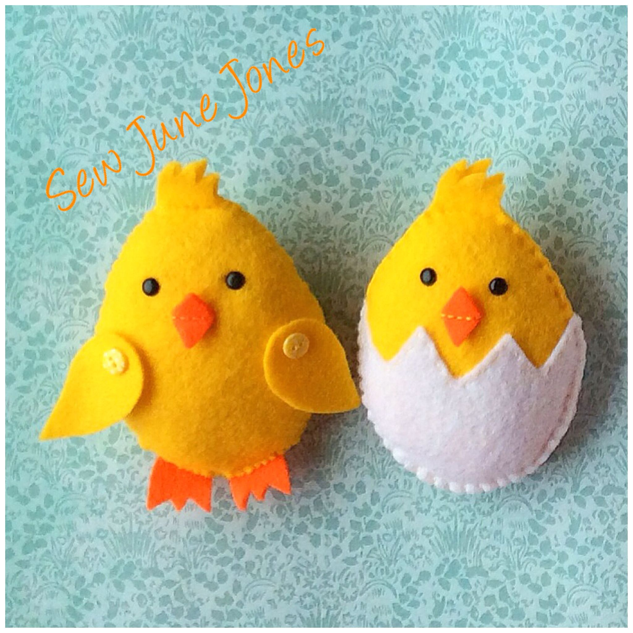Cute Easter chicks!