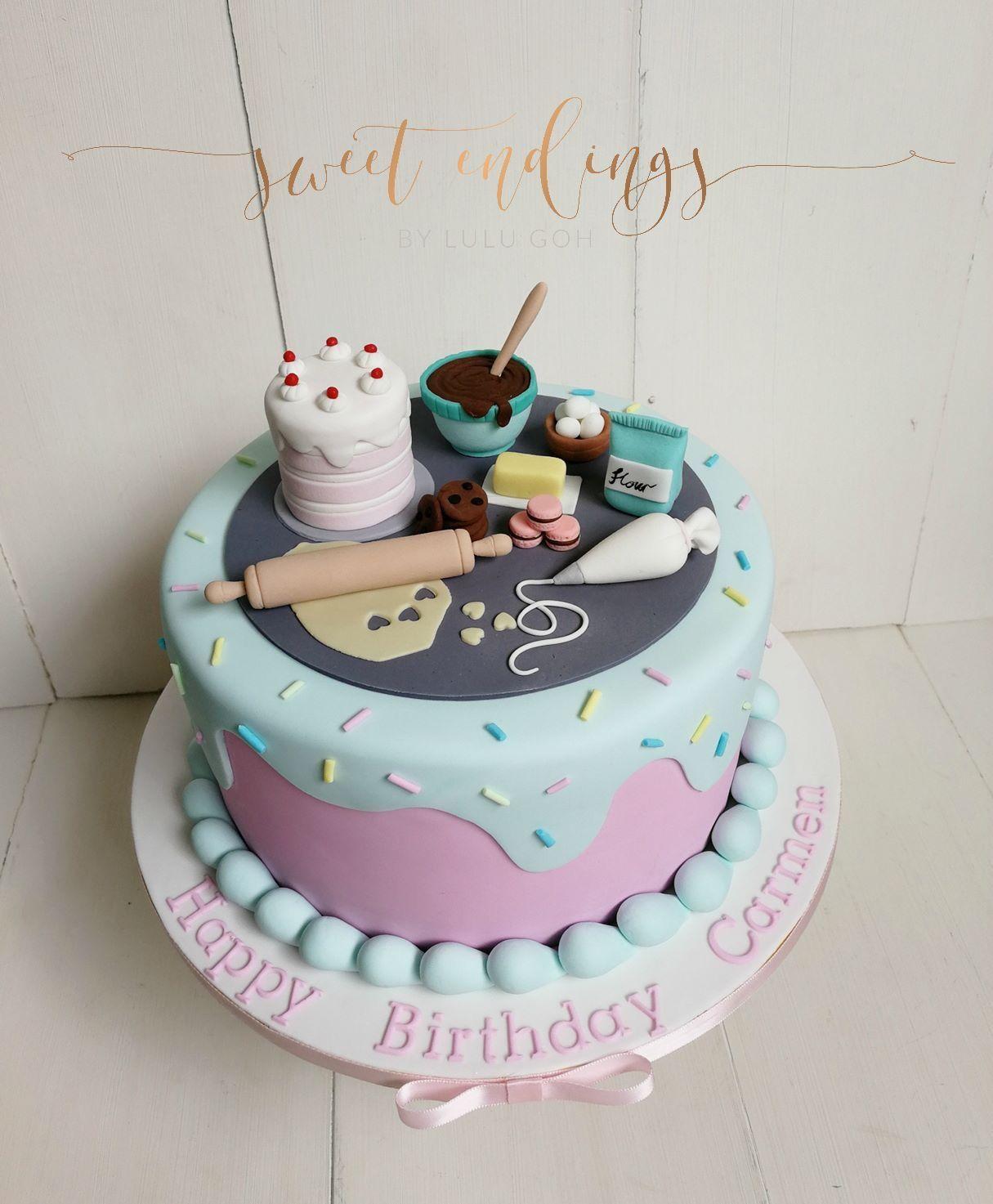 Kitchen Cake Kreative Kuchen Tortenverzierungstipps Geburtstag Kuchen