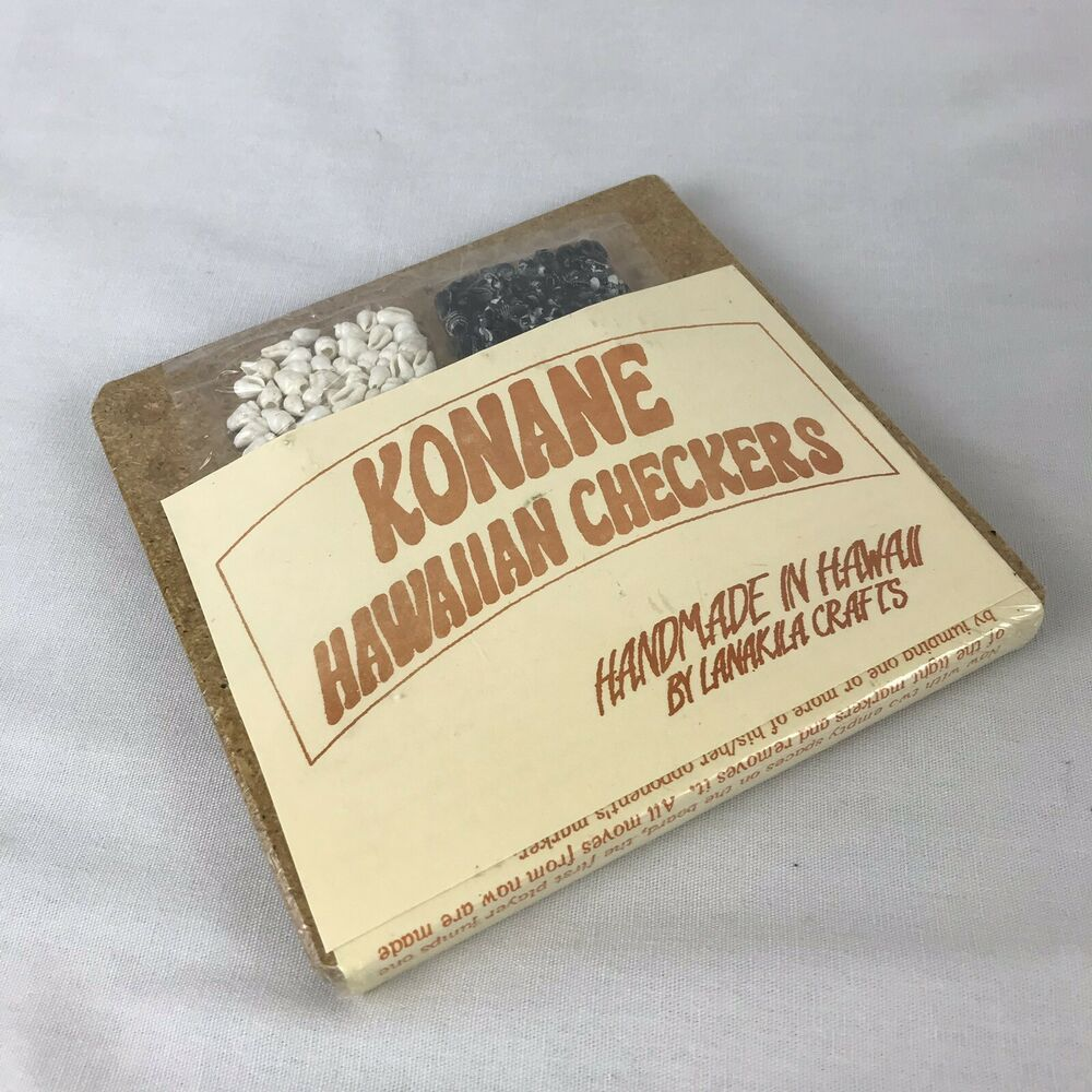 Handmade in Hawaii by Lanakila Crafts by Lanakila Crafts Konane Hawaiian Checkers