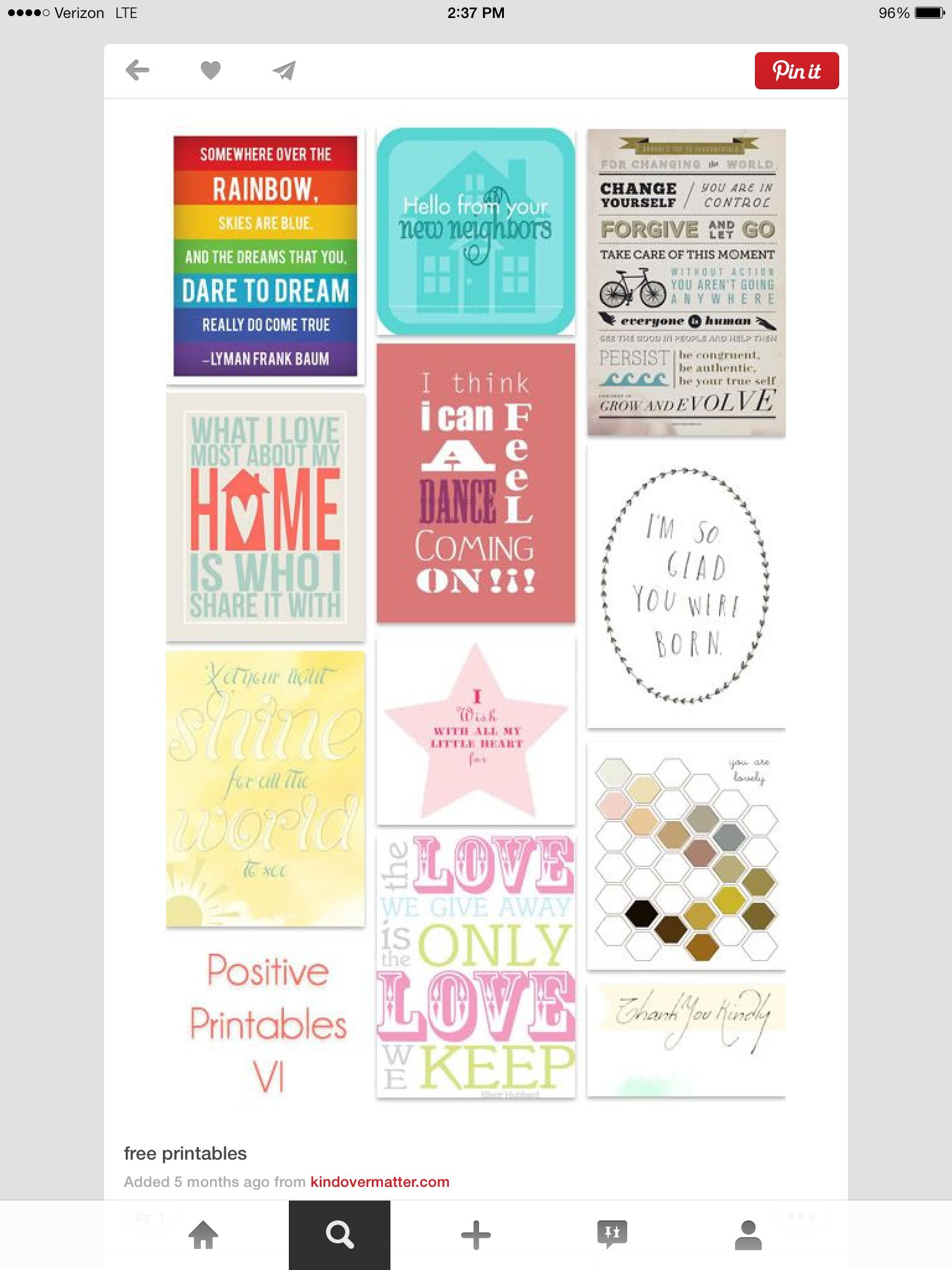 For everyday Journal cards, Free printables, Project
