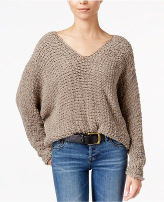 Shop Now - >  https://api.shopstyle.com/action/apiVisitRetailer?id=606513902&pid=uid6996-25233114-59 Free People Dolphin Bay V-Neck Sweater  ...