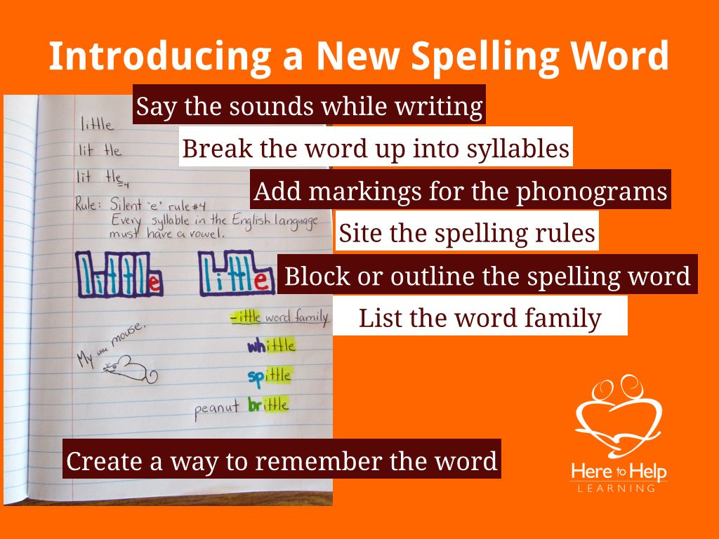 Dyslexia Spelling Tips For Struggling Spellers
