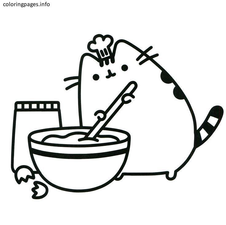 Pusheen 05 Pusheen Coloring Pages Free Printable Pusheen 05 Cat Animal Soup K Cute Coloring Pages Pusheen Coloring Pages Unicorn Coloring Pages