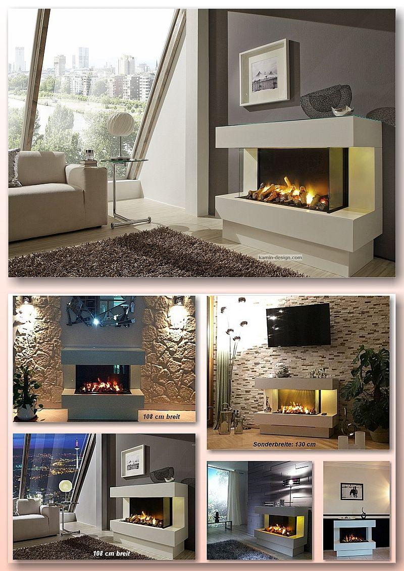CONCEPT nr. 4 EL www.kamin-design.eu #ModerneKamine #Elektrokamin ...