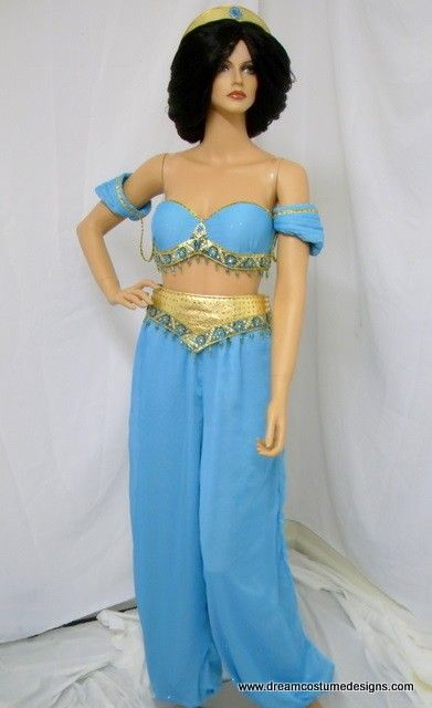 Custom Jasmine Princess Couture Adult Costume por Bbeauty79 en ...