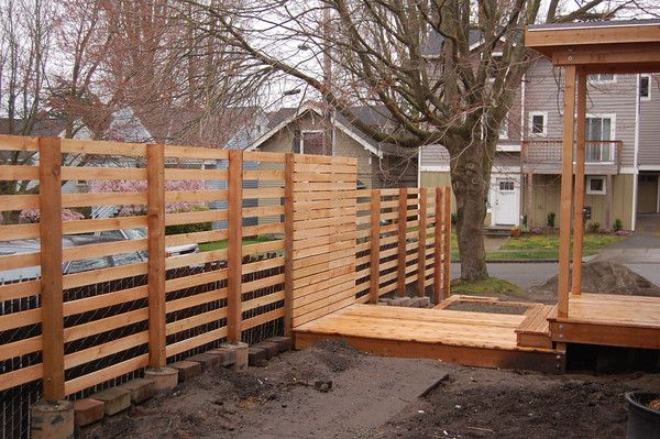 construction process of fence with images outdoor on modern fence ideas highlighting your house with most shared privacy fence designs id=45556