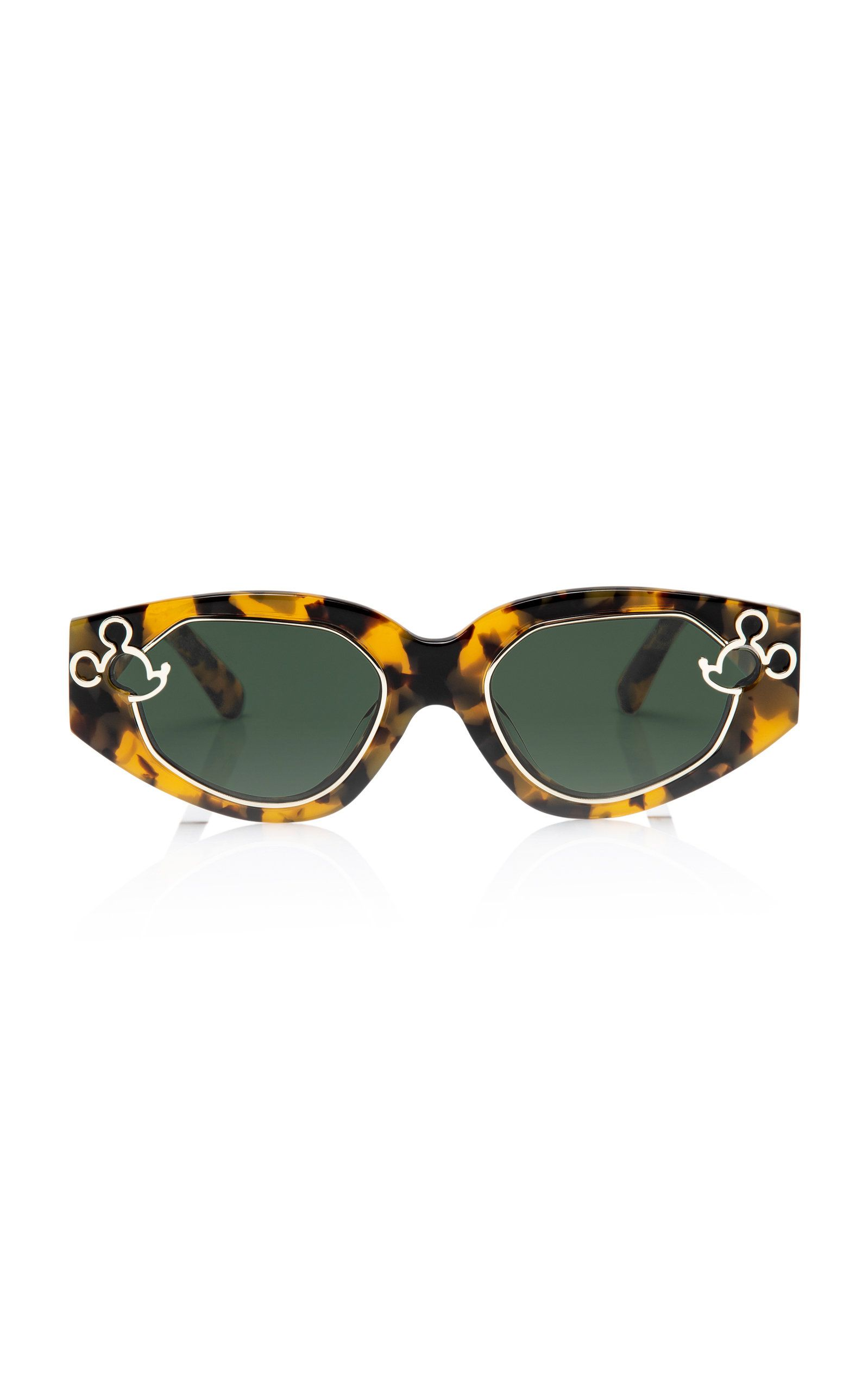 6b50c4d6228 Cast of Two Square Sunglasses by KAREN WALKER X DISNEY Now Available on  Moda Operandi