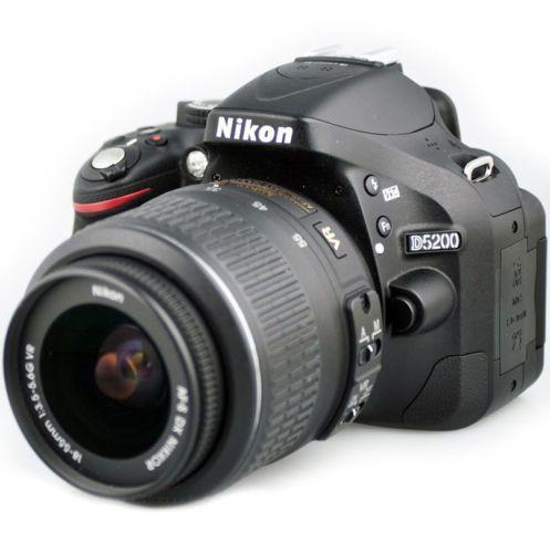 Nikon D5200 Dslr Camera W 18 55mm Vr Ii Kit Nikkor Lens 1503 Brand New Digital Camera Lens Digital Slr Camera Nikon D5200