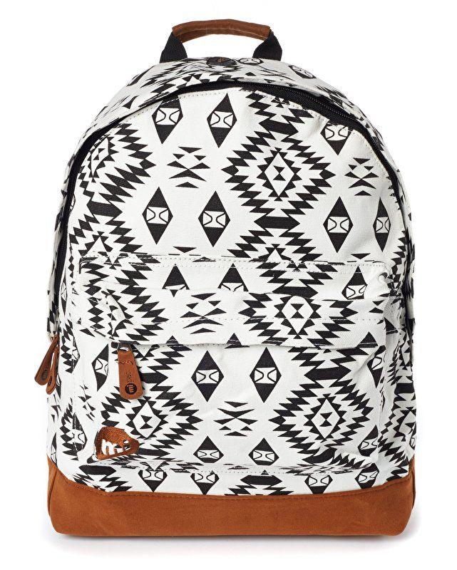 3e02233192b Mi-Pac Rugzak Premium Native Black / White | vans | Fashion bags ...