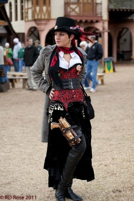 Ste&unk costume  sc 1 st  Pinterest : steampunk cosplay costumes  - Germanpascual.Com