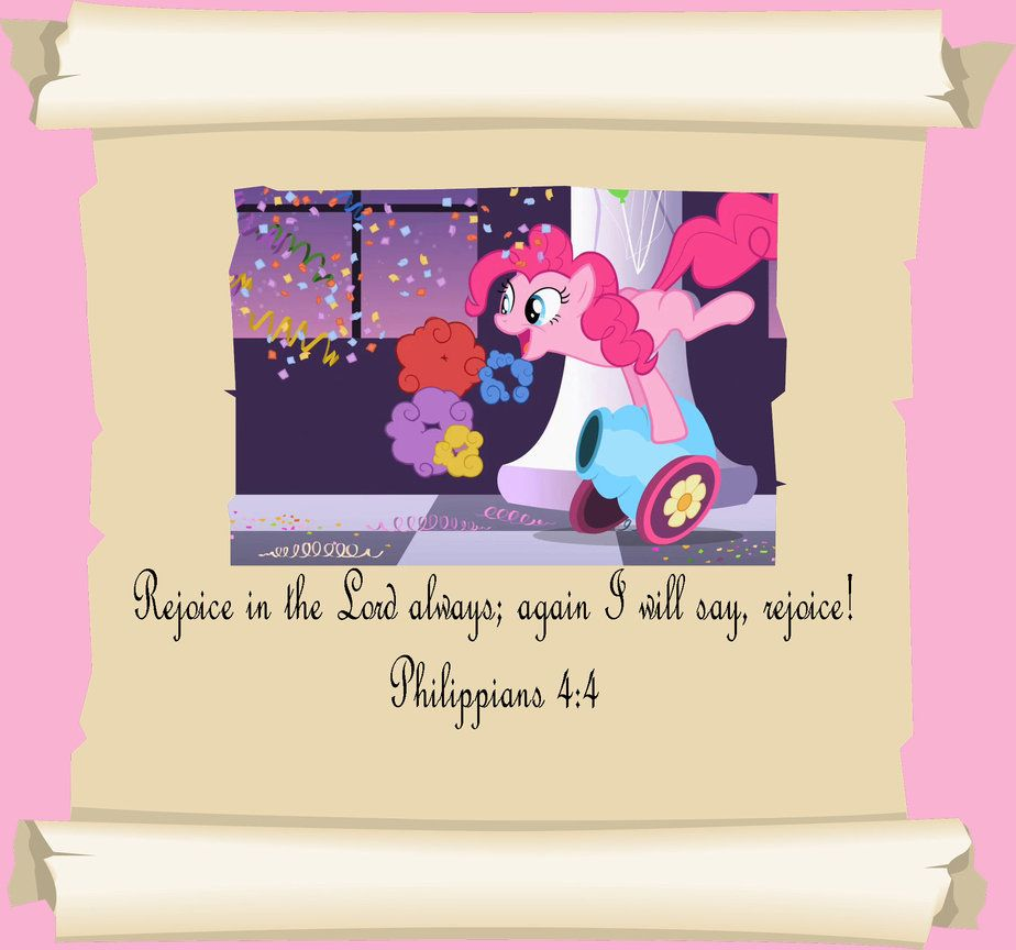 My Little Pony Birthday Quotes: MLP Christian Quotes. Pinkie Pie By GennadyKalugina On