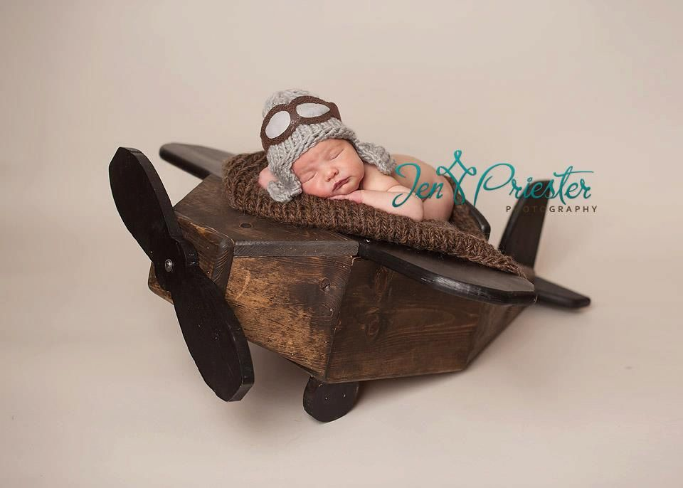 Photo prop photography prop airplane plane prop newborn prop plane prop aviator aviator prop boy prop 200 00 via etsy