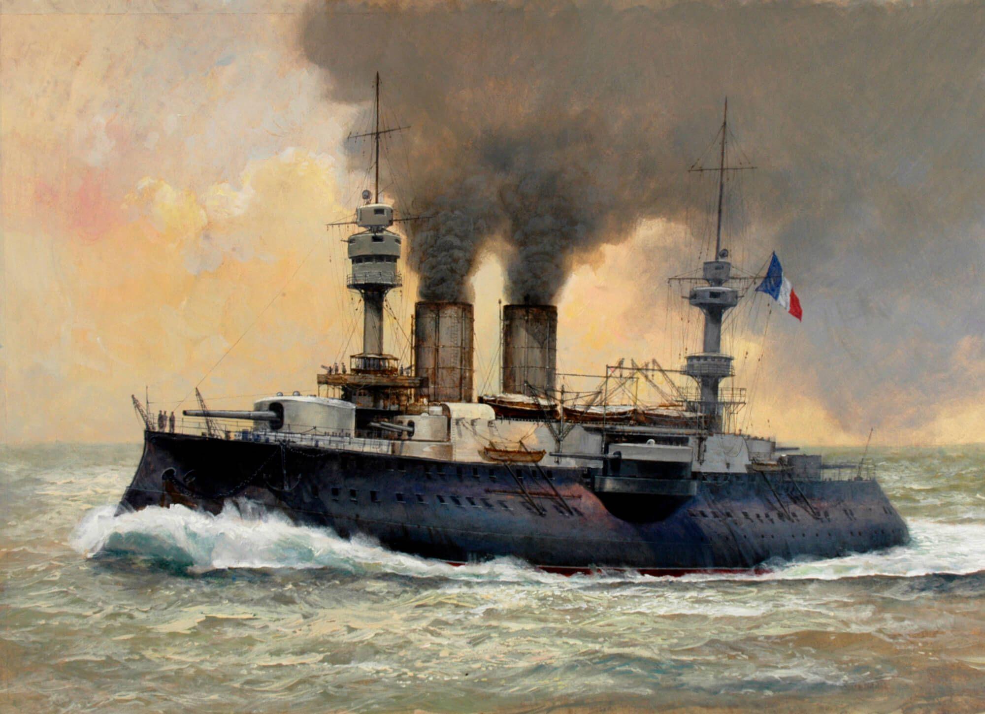 Rf Jauregulberry Ship Art Battleship Marine Artist