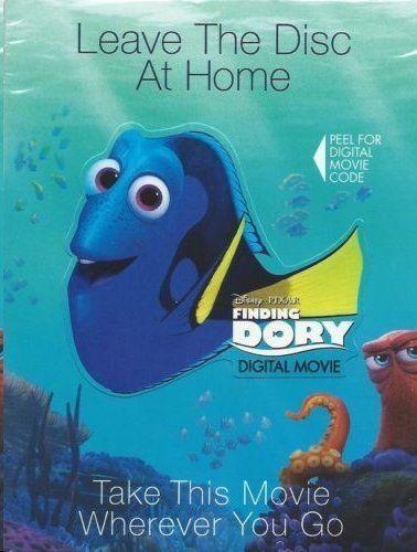 Finding Dory (Digital HD Code) Only 5,000 start bid