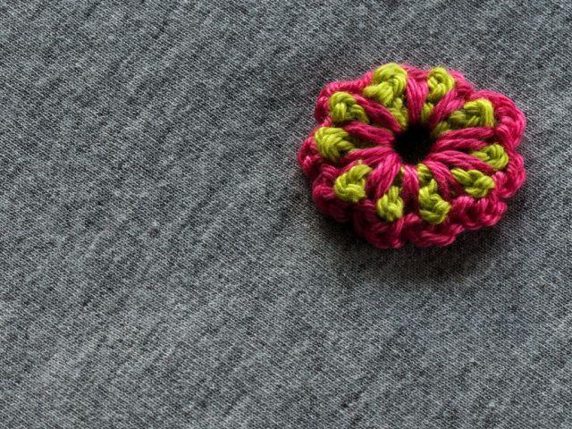 Simple Double Layered Crochet Flower A Free Pattern Crochet