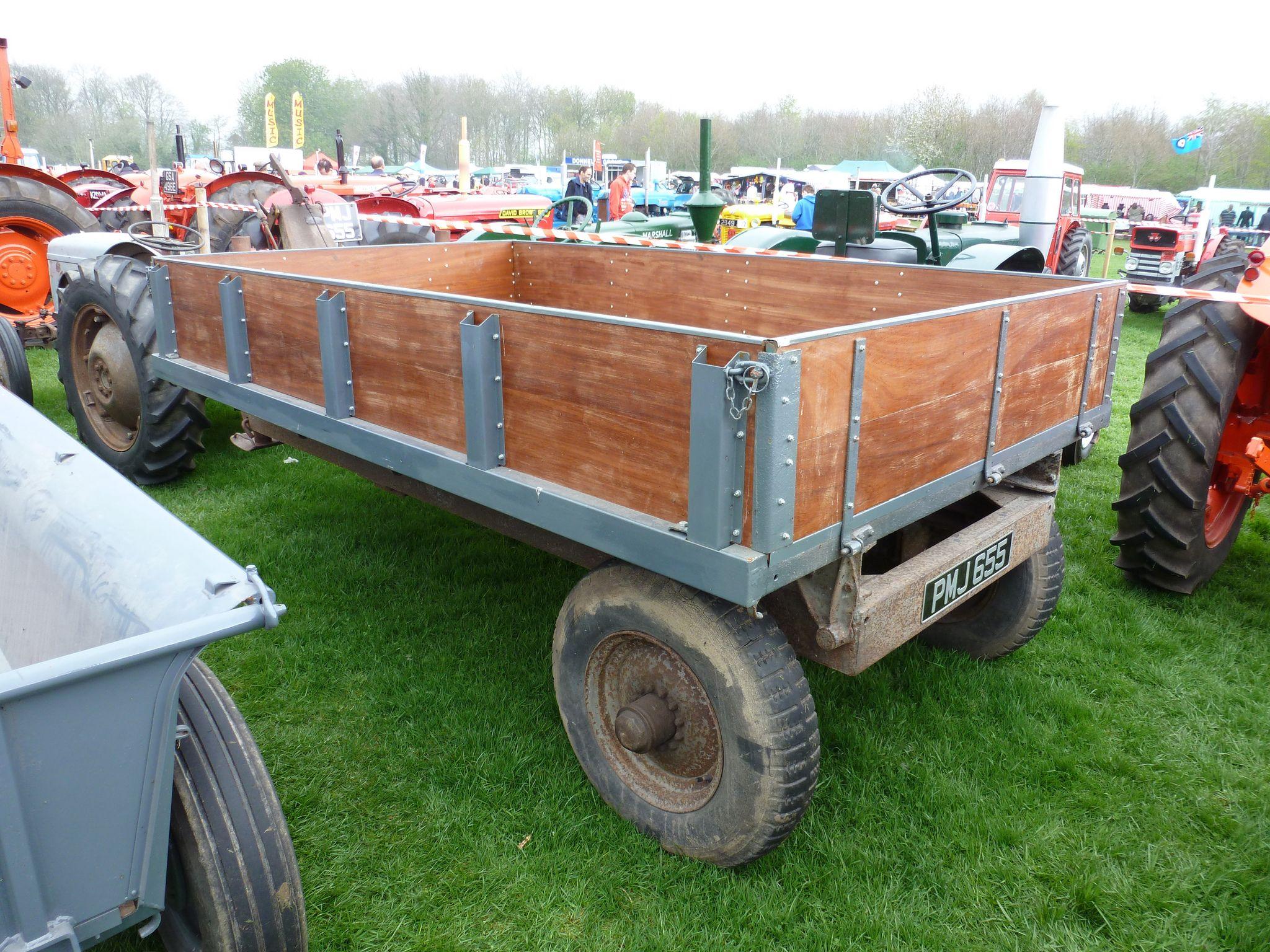 Ferguson 3 ton trailer | Tractors | Tractor attachments