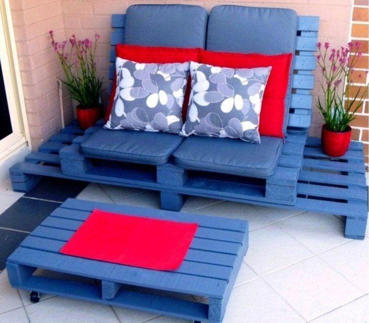Meuble en palette: 81 idées DIY pour votre espace maison ...