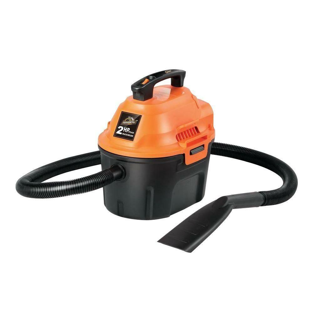 Armor All 2.5 Gallon, 2 Peak HP, Utility Wet/Dry Vacuum ...