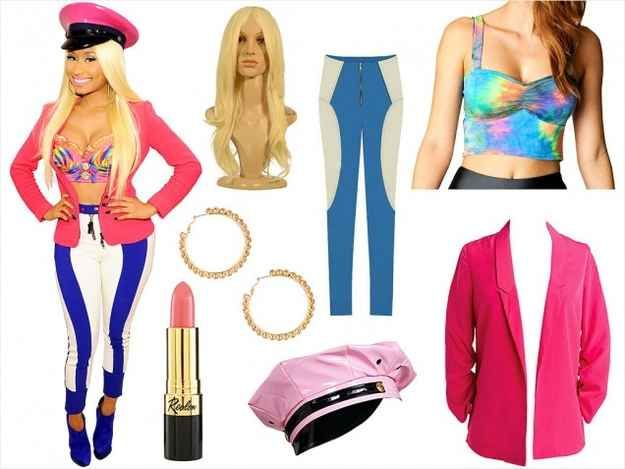 46 Awesome Costumes For Every Hair Color BOO Pinterest Awesome - nicki minaj halloween ideas