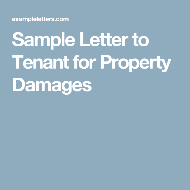 sample letter to tenant for property damages bariatric sleeve bariatric surgery lettering weight