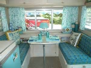 vintage camper interiors Bing Images 1960s Interior Design