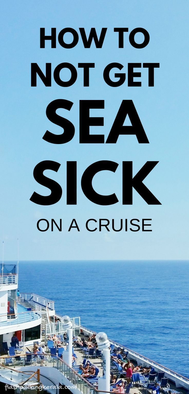 How to prevent seasickness on a cruise :: Caribbean cruise tips :: Travel packing list | Flashpackin