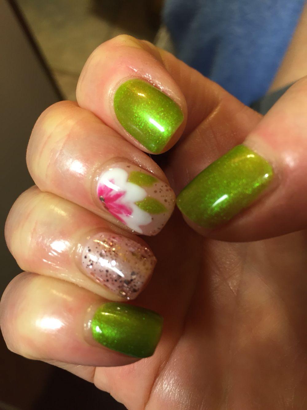Japanese style magnolia nails | Nails | Pinterest | Japanese style