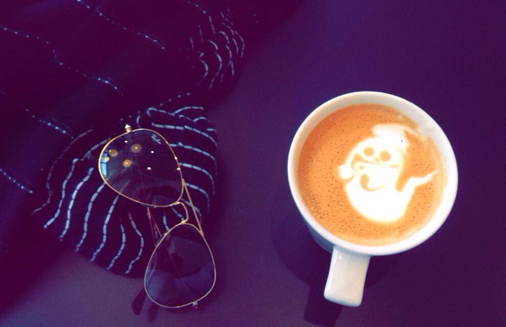 Boo spiced latte