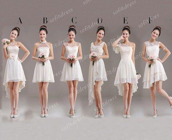 junior bridesmaid dresses short bridesmaid dress by sofitdress, $126.00