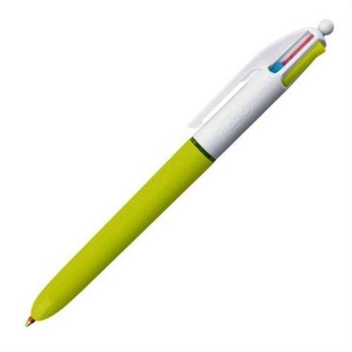 stylo 4 couleurs pastel