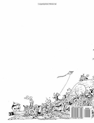 Doodle Invasion Zifflins Coloring Book Volume 1 Zifflin Kerby Rosanes
