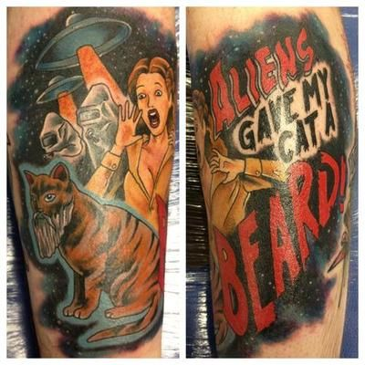 edaade100 this is one bad ass tattoo lmao! | Flim Flam Jammy Wham | Funny ...
