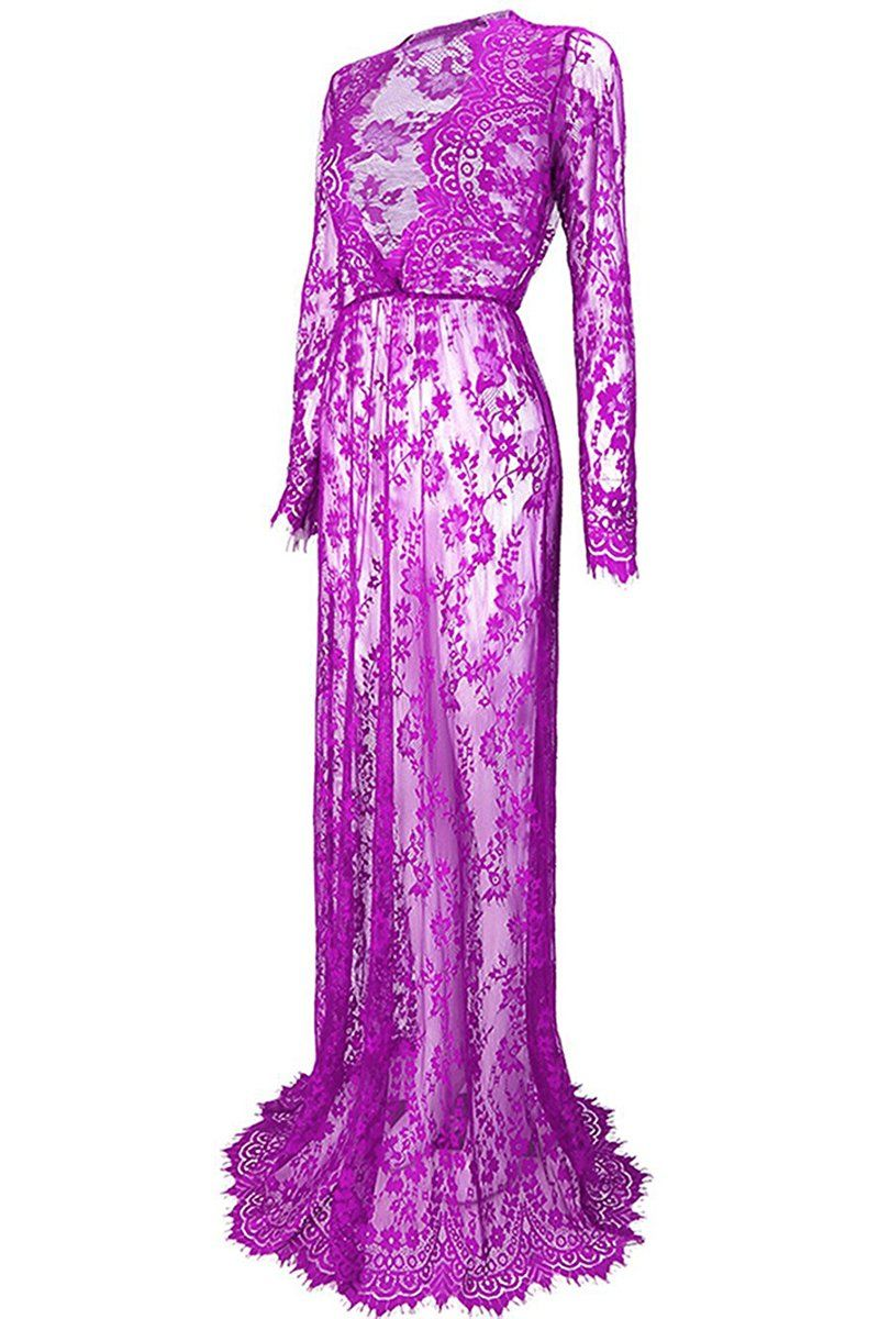 d55c4dc5bb89 Maternity Styles - baggy maternity dresses   YMING Womens Lace See Through  Maternity Dress Long Sleeve Beach Dresses Purple M   You can find even more  ...