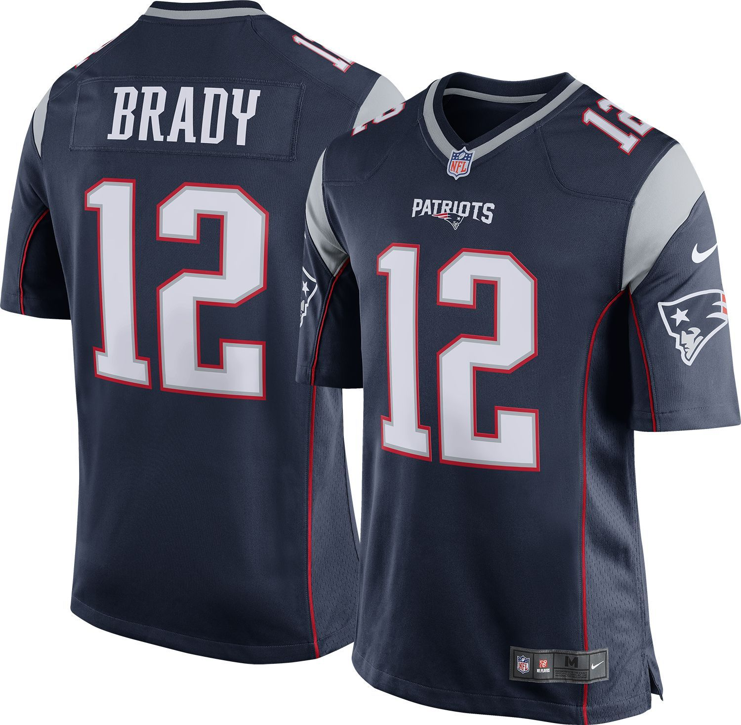 Nike Men S Home Game New England Tom Brady 12 Jersey Size Large Team Jersey Patriots New England Patriots Game Nfl