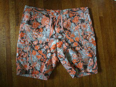 2147f80dad LILLY-PULITZER-MENS-STUFF-PALM-BEACH-shorts-orange-tiger-lily -rose-pattern-vinta