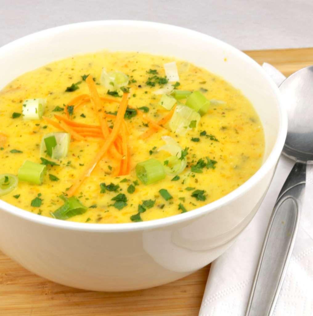 Vegetarische Kartoffelsuppe nach Omas Rezept – Zu Faul Zum Kochen ? – Carey&CleanEatingS