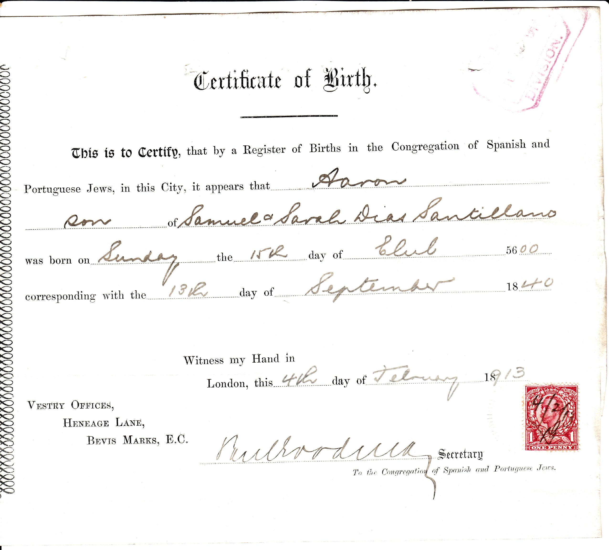 Henry Dias, 2nd NJ Infantry. He Applied For Pension